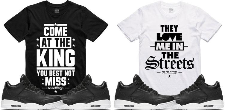 jordan 3 cyber monday sneaker shirts by retro kings. Black Bedroom Furniture Sets. Home Design Ideas