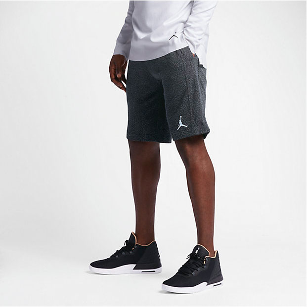 air jordan retro 3 fleece shorts