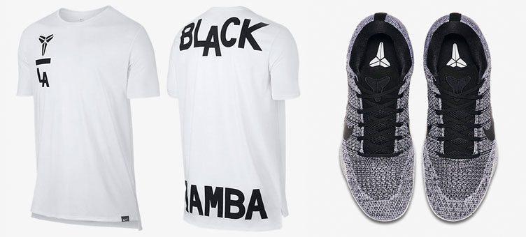 "Nike Kobe 11 Elite ""Oreo"" x Nike Kobe Art Droptail T-Shirt"