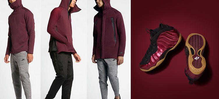 nike-air-foamposite-maroon-clothing