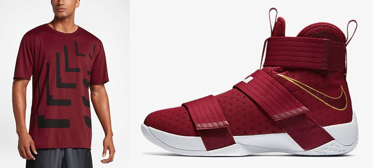 "Nike LeBron Soldier 10 ""Christ the King"" x Nike LeBron ""LJ"" T-Shirt"