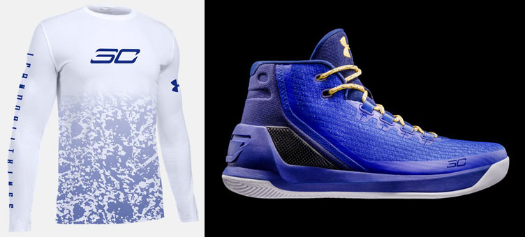 c2d7b9beb24 Under Armour Curry 3 Dub Nation Shirt