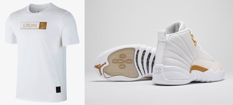 9f6efd2d4bd Air Jordan 12 OVO Clothing | SneakerFits.com