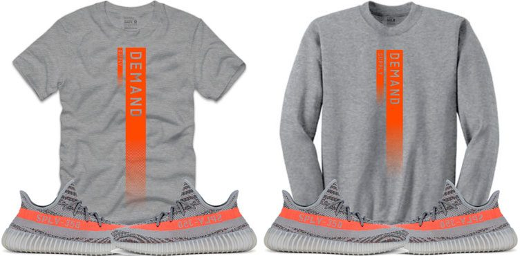 "923e52d32 Retro Kings Sneaker Shirts to Match the Yeezy 350 Boost ""Beluga"""