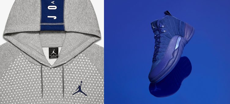 air-jordan-12-royal-blue-suede-hoodie