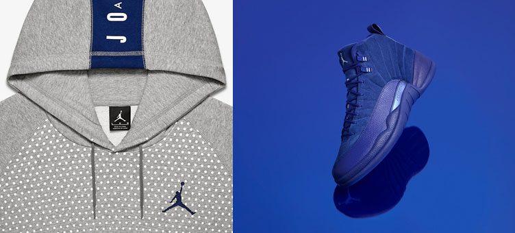 air-jordan-12-royal-blue-suede-hoodie