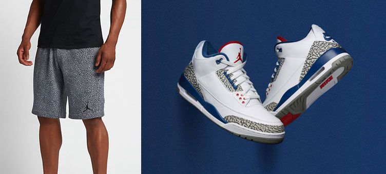 903de37ca76 Air Jordan 3 True Blue Shorts