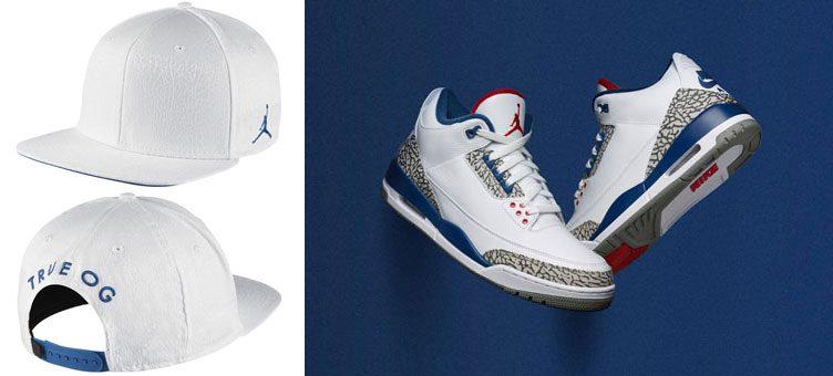 jordan-3-true-blue-snapback-cap