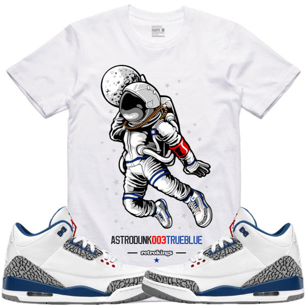 6dd430ed3a3 Jordan 3 True Blue Sneaker Tees by Retro Kings | SneakerFits.com