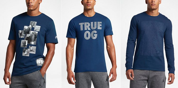 "4e46ddcac86 Air Jordan 3 Shirts to Match the Air Jordan 3 ""True Blue"""