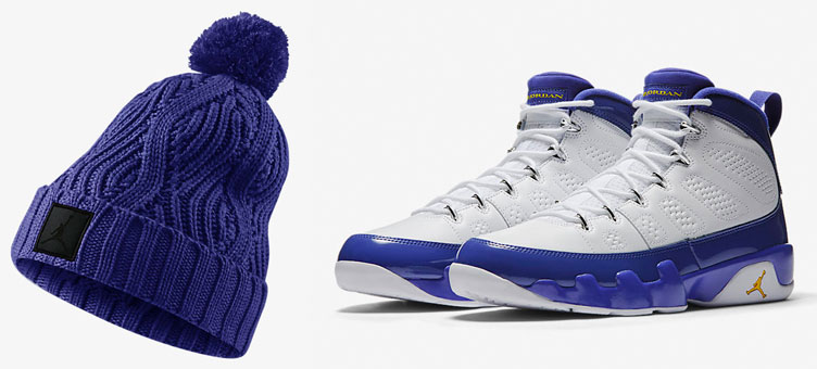 ac9c0cea3fb Air Jordan 9 Kobe Knit Hat Beanie