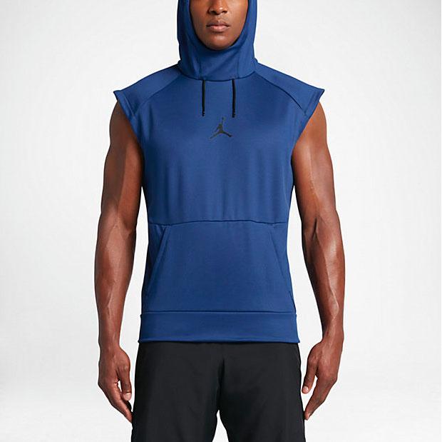 jordan sleeveless hoodie