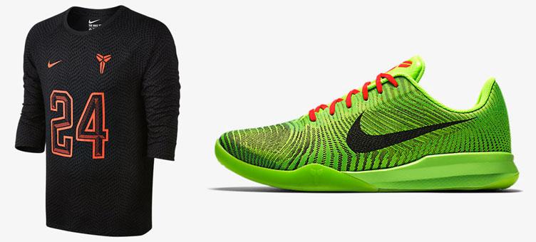 c1d6675f705 Nike Kobe Mentality 2 Grinch Shirt
