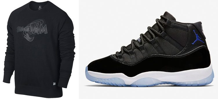 "Air Jordan 11 ""Space Jam"" Crew Sweatshirt"