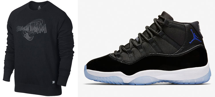 577e84dabaf79d Air Jordan 11 Space Jam Sweat Shirt