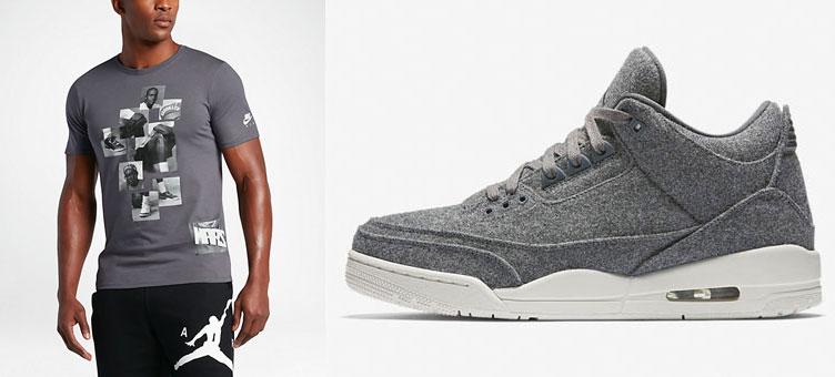 de56e741804 Air Jordan 3 Wool Shirts | SneakerFits.com