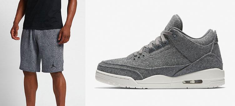 e9aaa4b4d41 Air Jordan 3 Wool Shorts | SneakerFits.com