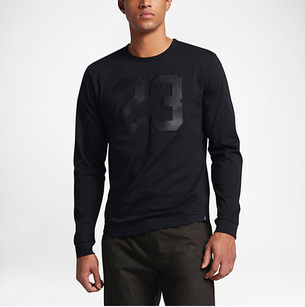 Long Sleeve Cat Black Jordan Shirt 6 Air 5RjAq4L3