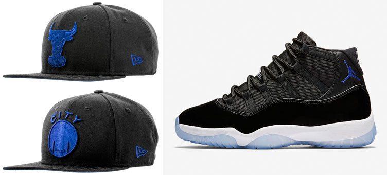"New Era NBA Space Hook Snapback Hats to Match the Air Jordan 11 ""Space Jam"""