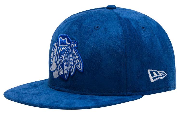 jordan-12-blue-suede-chicago-snapback-hat-1 1075c2879d4