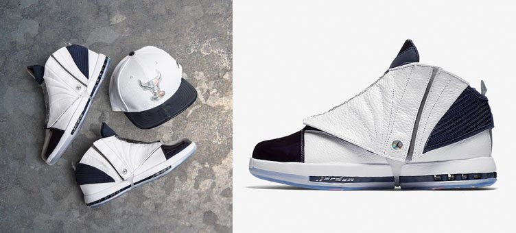6cf3fad24f0f Jordan 16 Midnight Navy Bulls New Era Hat