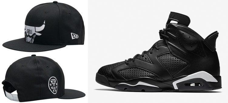 jordan-6-black-cat-bulls-new-era-hat