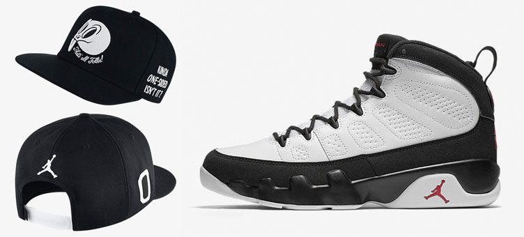 "Air Jordan 9 Retro OG ""Space Jam"" x Air Jordan ""Space Jam"" Snapback Hat"