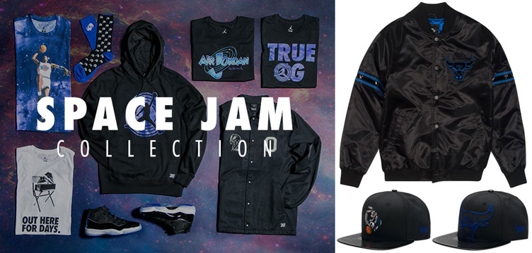 45c5ee9b61429e Jordan Space Jam Collection at Jimmy Jazz Including Exclusive Apparel to  Match