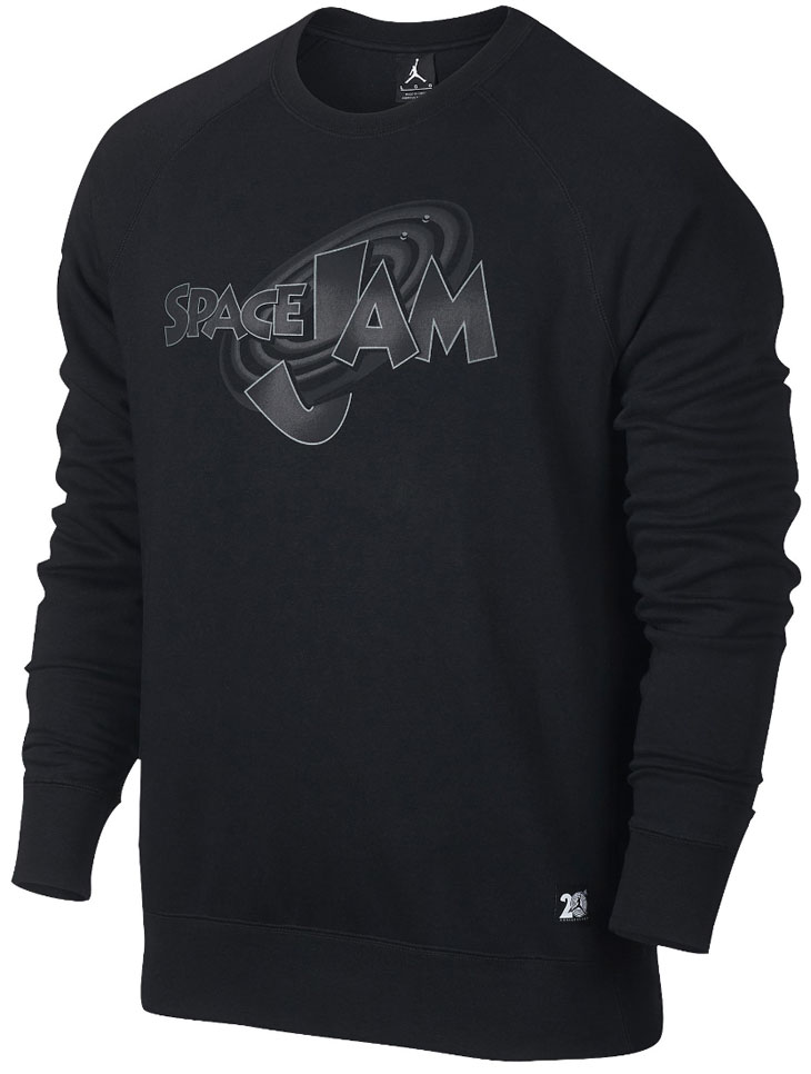 Air Jordan 11 Space Jam Sweat Shirt Sneakerfitscom