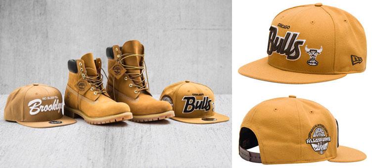 97ad2ebf7ab New Era Wheat Snapback Hat to Match Timberland Boot