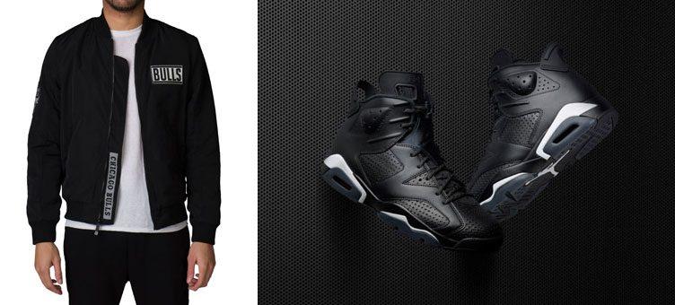 Jordan-6-black-cat-bulls-jacket
