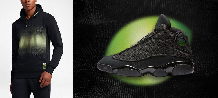 """Air Jordan 13 """"Black Cat"""" Hoodie"""