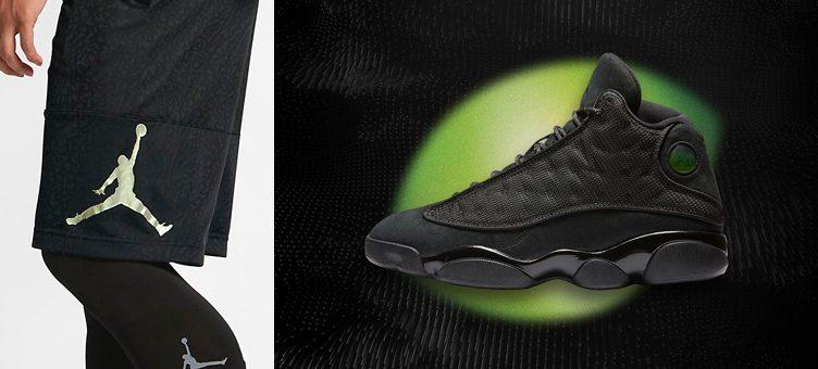 air-jordan-13-black-cat-shorts