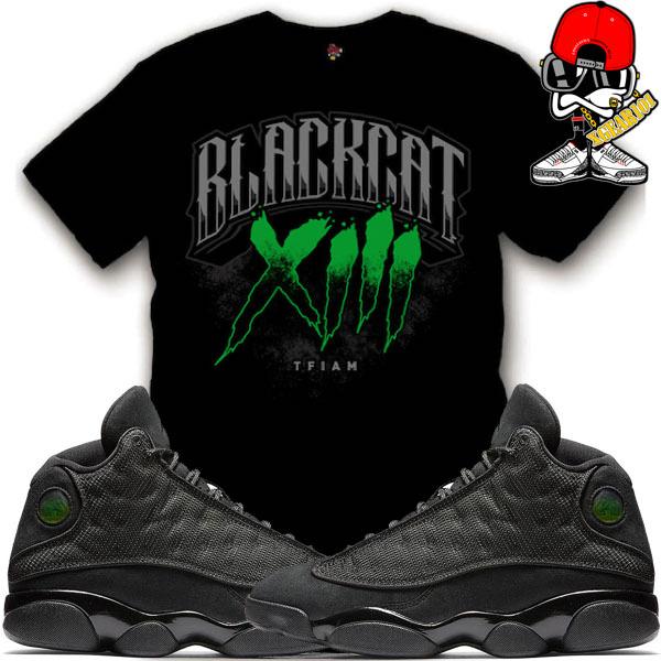 newest b1f0f 23358 ... air-jordan-13-black-cat-sneaker-match ...
