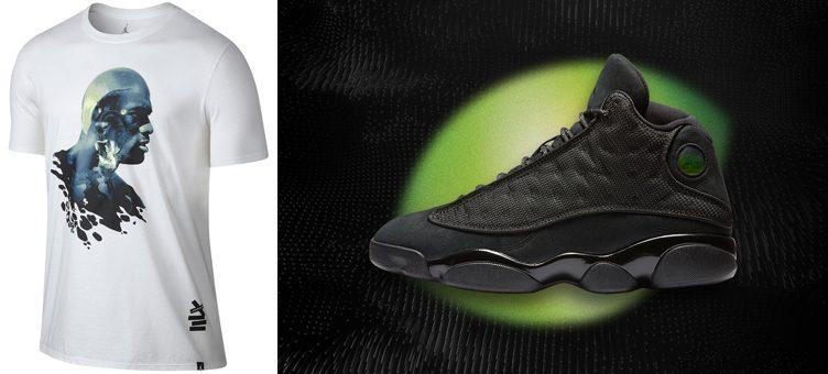 """Air Jordan 13 """"Black Cat"""" T-Shirt"""