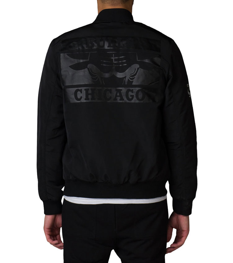 Jordan 6 Black Cat Chicago Bulls Jacket | SneakerFits.com
