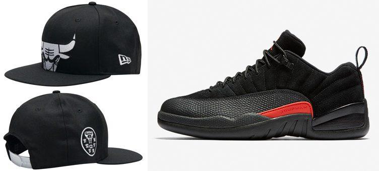 "New Era Chicago Bulls Snapback Hat to Match the Air Jordan 12 Low ""Max Orange"""