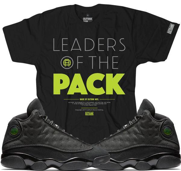 new style e71dc 7ed98 jordan-13-black-cat-sneaker-tee-outrank-1