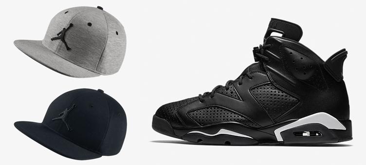 76995d71f04a97 Air Jordan 6 Black Cat x Jordan 23 Lux Snapback Hat