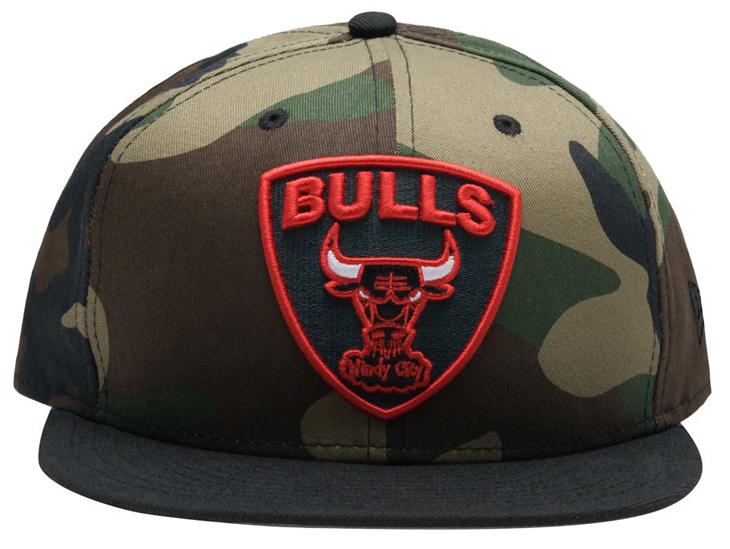 124ca69692cbd New Era Bulls Camo Hat to Match Air Jordan 8 Take Flight ...