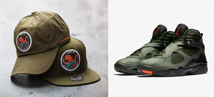 jordan-8-take-flight-green-dad-snapback-hats