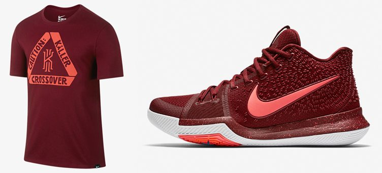 "Nike Kyrie 3 ""Warning"" x Nike Kyrie ""Caution: Killer Crossover"" T-Shirt"