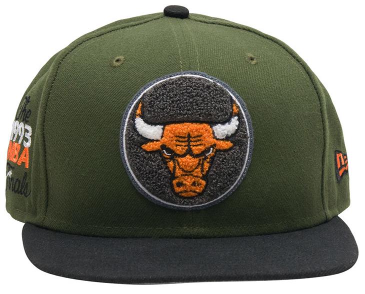 75407050c79e8 New Era Bulls Air Jordan 8 Take Flight Cap | SneakerFits.com
