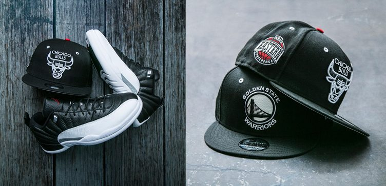 reputable site 7cfd6 dc75b ... coupon for new era nba snapback hats to match the air jordan 12 low  playoff a7f0b