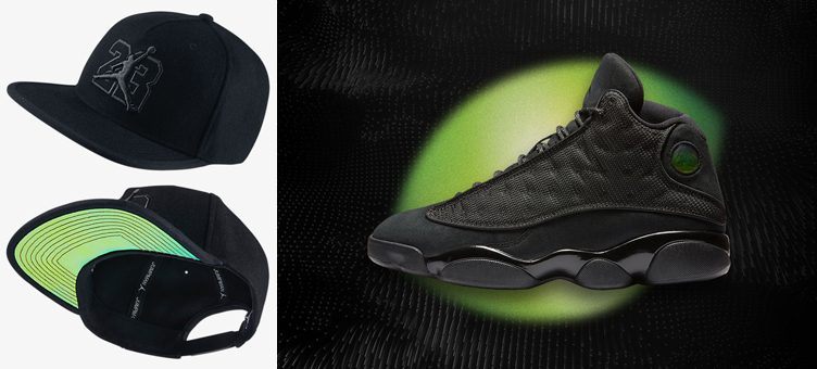 online store 5384c 17c8d italy air jordan 13 black cat hat 8bb40 19a2e