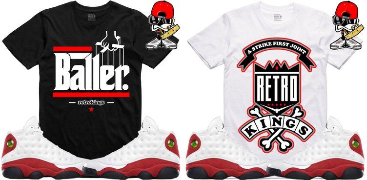 air-jordan-13-chicago-sneaker-tees-retro-kings