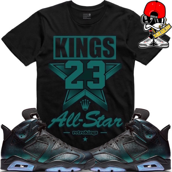 963e338d8bbc5 Air Jordan 6 All Star Sneaker Tees by Retro Kings | SneakerFits.com