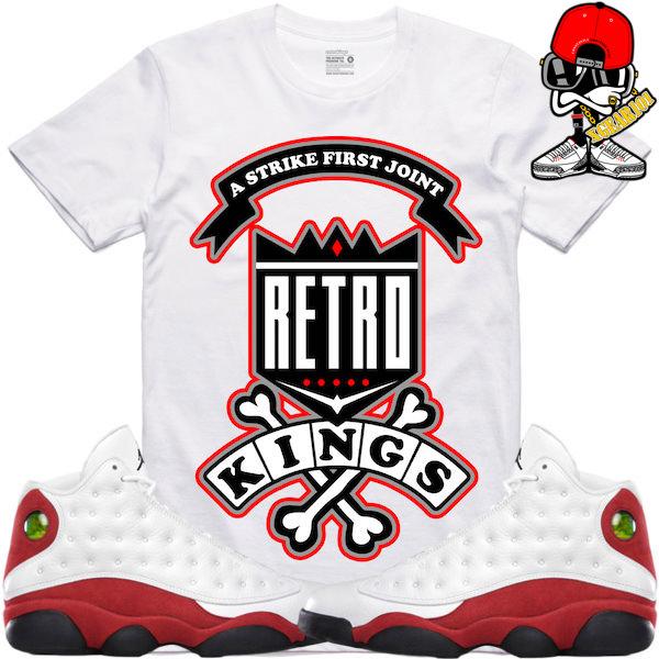af025e82de1b Jordan 13 Chicago Sneaker Tees by Retro Kings