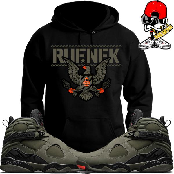 sports shoes 40723 6a47e Jordan 8 Take Flight Sneaker Shirts by Original RUFNEK ...