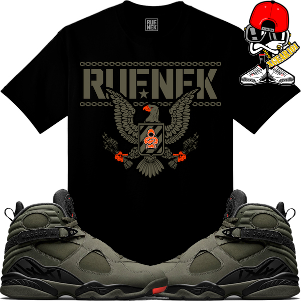 34f8df073e56d3 Jordan 8 Take Flight Sneaker Shirts by Original RUFNEK